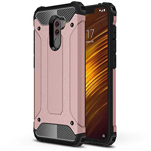 HUUH Funda Xiaomi Pocophone F1 Carcasa Caja de teléfono móvil, combinación TPU...