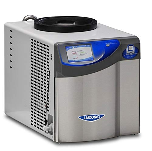 Labconco 7740041 FreeZone 2.5 Liter Benchtop Freeze Dry System, 115V, 60 Hz
