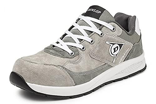 Zapato de Seguridad S3 Gris de Piel de Ante Repelente al Agua con Puntera de Composite y Libre de Metal. EN ISO 20345: 2011 - DL0201052