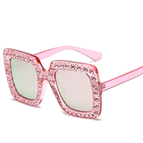 Fusanadarn Vierkante zonnebril voor mannen vrouwen grote zonnebril voor vrouwen mannen Flat Top Fashion Shades