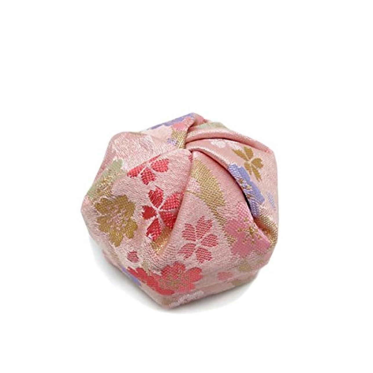 とても多くの直面する資料布香盒 ピンク系 紙箱入