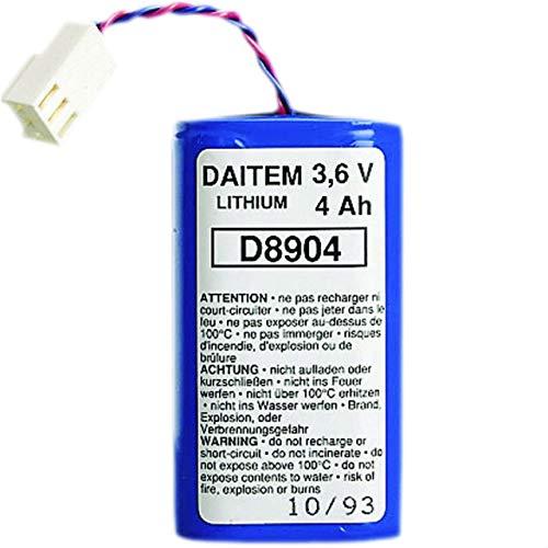 Hager - Bateria Litio 3,6v/4ah
