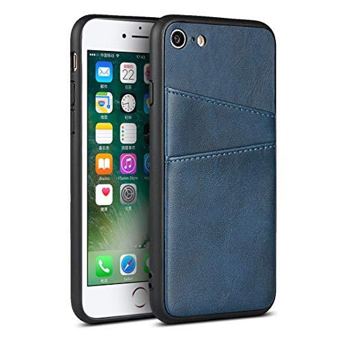 Schutzhülle für iPhone 7 / iPhone 8, PU-Leder, Blau