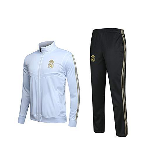 SJZXZRXY Sportanzüge Fußballsportbekleidung Langärmlige Jacken Und Hosen, Atmungsaktive Sportbekleidung Für Den Außenbereich-HM-B