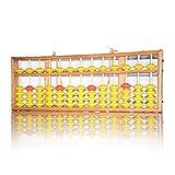 HJHJ Ábaco Matemático Educación Docente Calculadora Colgando Abacus Enseñanza Abacus para El Profesor 22.8x8x1.3in