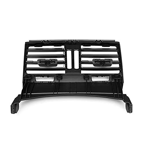Iinger Consola de Centro Trasero Outlet Fresh Air Outlet Grille FUT FIT para BMW X5 E70 2006-2014 (Color Name : Black)