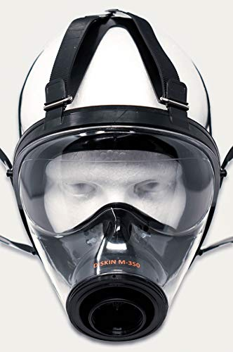 DISKIN Full Face Respirator Military Spec Gas Mask - Gas Mask Filter Sold Separately