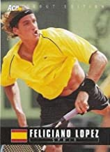 Feliciano Lopez Tennis Card (Spain) 2005 Ace Debut #48