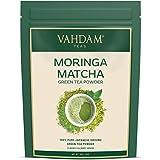 VAHDAM -Moringa + Matcha Green Tea Powder -50 gm | Pure Japanese Matcha