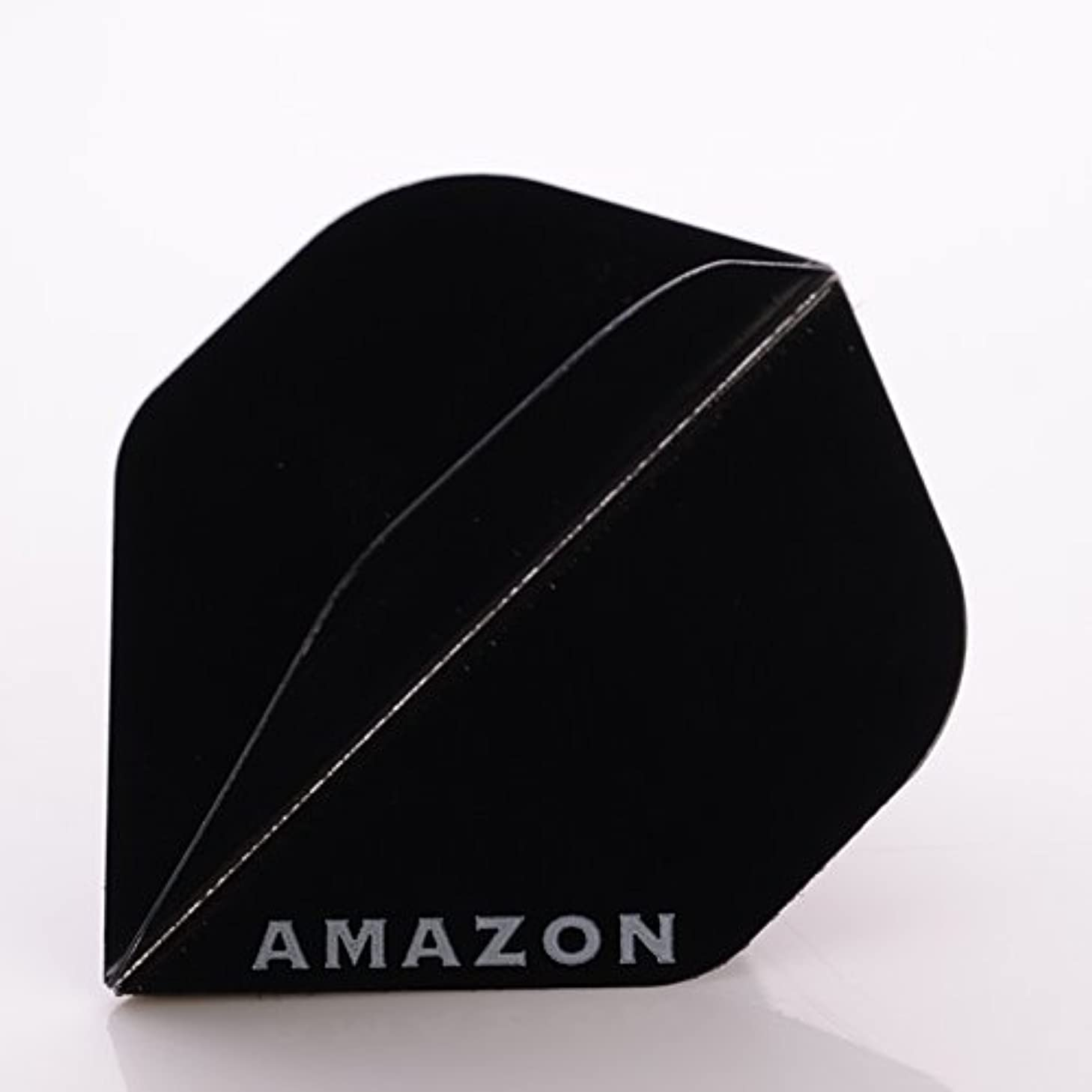 3 x SETS AMAZON DARTS FLIGHTS STANDARD BLACK