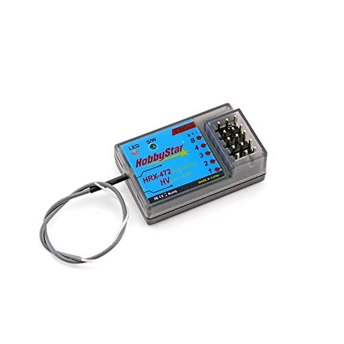 HobbyStar HRX-472 Sanwa FH3, FH4 Compatible 4ch Receiver, FHSS