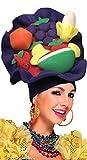 Fancy Me Damen Herren Carmen Miranda Karibik Obst Karneval Pantomime Panto Dame, Kostüm-Kostüm Outfit Hut
