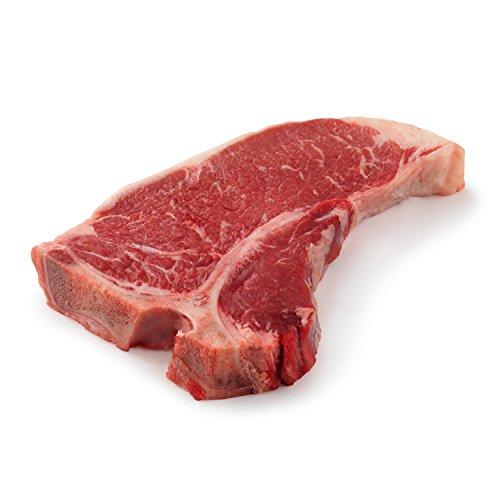 H.F.'s Outstanding Black Angus Beef T-Bone Steak, 16 Ounce (Pack of 2)