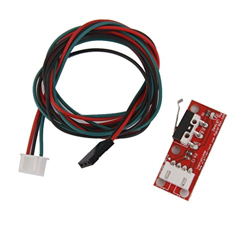 SHM-MM Mechanical Limit Limit Lever Microswitch + 22AWG Cable for 3D Printer CNC