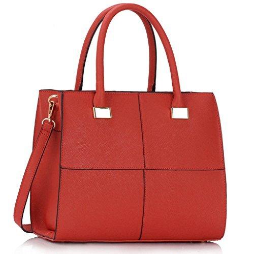 TrendStar - Sacchetto donna , Rosso