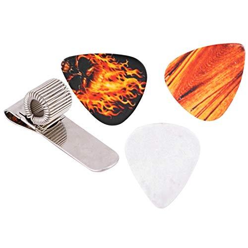 Kadimendium Soporte para púas de Guitarra de Metal para Amantes de la Guitarra para guitarristas