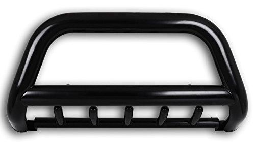 Arceau de protection avant + protection anti-encastrement Ø 89 mm noir avec homologation CE / ABE – Année de construction 2015 – Nouveau modèle