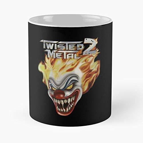 Mememecosmetics Shirttwisted 2 T 1996 Twisted Metal Migliore Tazza da caffè Regalo 11 oz