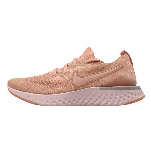 Nike Men's Epic React Flyknit Running Shoes Gold Size: 8 UK