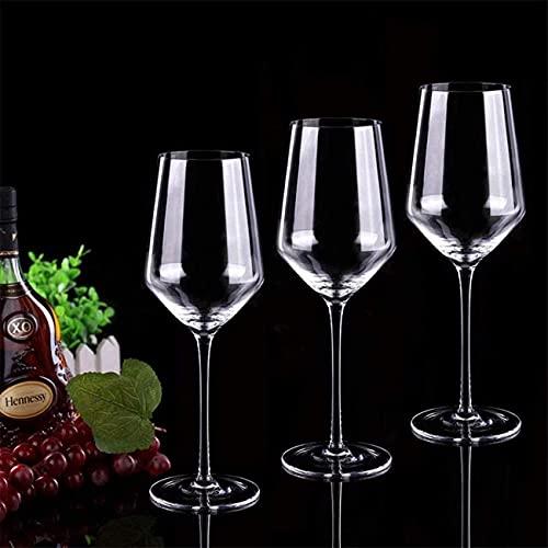 Hecho a mano / Copa de vino 400ml Crystal Red White White Coblet Líder Premium Premium CRISTAL CRISTAL CRISTAL CRISTAL MANO MANO PREMIUM ROJO, TALLO DE CRISTAL CLEAR (Tamaño: Juego de 2) / Código de p