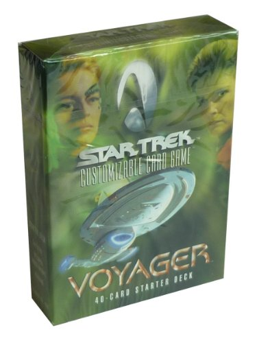 Star Trek - Customizable Card Game - Voyager 40-Card Starter Deck