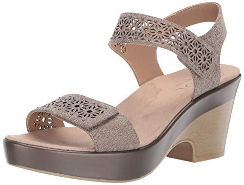 SOUL Naturalizer Women's MCKENNA Sandal, NICKEL, 7 M US