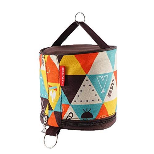 MagiDeal Camping Toilettenpapier Tasche Beutel Taschentuch Aufbewahrungstasche für Outdoor-Aktivitäten - B