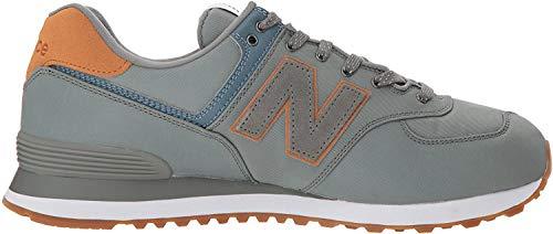 New Balance Herren 574v2 Sneaker, Grün (Dark Covert Green/Pigment Hvc), 42