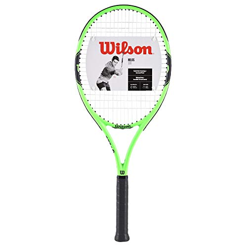Wilson WRT3004003 Synthetic Milos 100 Tennis Racquetothers (Green) Head Size(Sq in): 100Unstrung Weight (GMS): 284