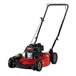 top rated Craftsman 11P-A0SD791 140 cc engine mounted 21 inch lawn mower overhead valve for small and medium yard, see red 2021