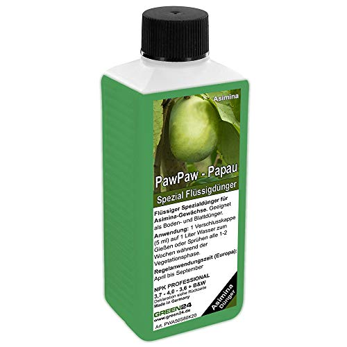 GREEN24 PawPaw-Dünger HIGH-TECH Spezial Dünger für Indianabanane, Papau, Asimina Pflanzen