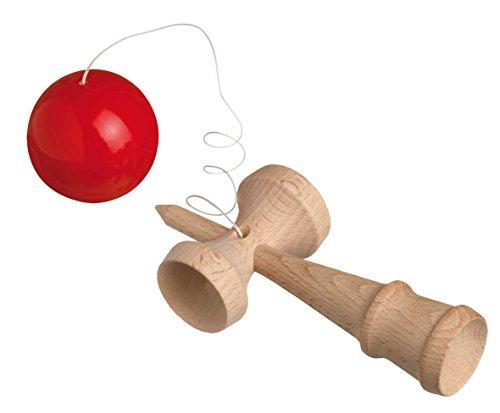 Philos 3802 - Kendama, Japanisches Geschicklichkeitsspiel, Holz
