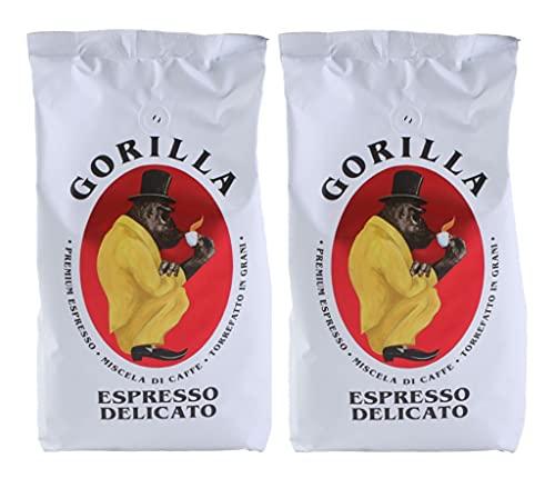 2x Joerges Espresso Gorilla 1.000g Delicato