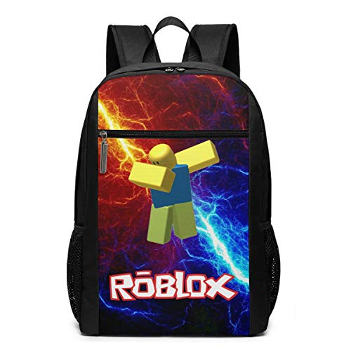 Ro-B-Lox 3d Backpack, Lightweight Multi-Function College Laptop Book Bag 17 Inch
