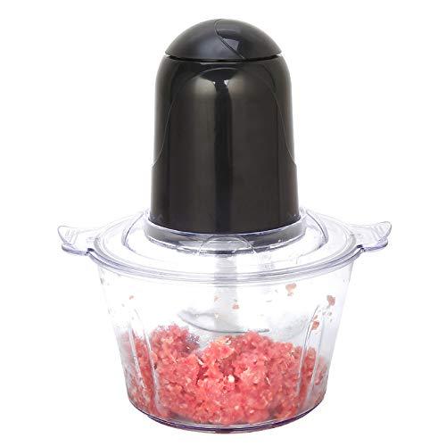 Elektrische groentemolen, multifunctionele vleesmolen, kookmachine, keuken, kookmachine, groentesnijder, thuis zwart
