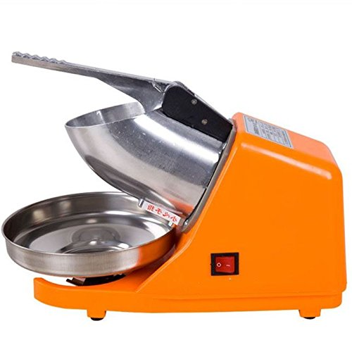 Fantastic Prices! TOPCHANCES Electric Ice Crusher, Ice Shaver Machine, Snow Cone Maker, Shaved Ice M...