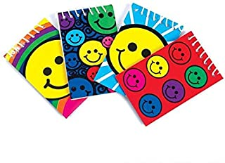 Rhode Island Novelty Smiley Face Mini Spiral Notebooks, 2 Dozen
