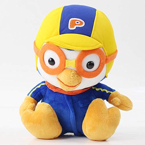 SSTOYS Cartoon Pinguin plüschtier 3D Animation Film Pinguin EIS und Schnee Abenteuer Figur Puppe Geburtstagsgeschenk Kind Begleiter doll-20cm Poluru