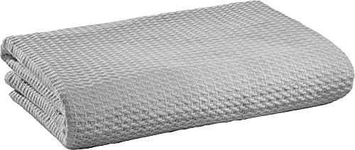 Erwin Müller Sommer-Decke Baumwolle Silbergrau Größe 150x200 cm