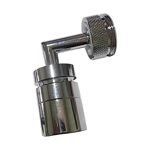 non-brand Filtro de Salpicaduras Grifo Filtro de Agua Grifo aireador para baño Cocina lavandería, 720 Grados Ajustable