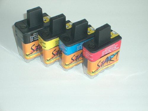 Start - 10 Patronen für BROTHER kompatibel zu Original Nr. LC 900 bk / c / m / y. Passen in folgende Drucker : Brother DCP 110c 115c 116c 117c 120c 310cn 315cn 340cw - wir liefern 4 schwarz Patronen + je 2 x cyan magenta yellow - einfach wie bei den Orginalpatronen - 100% Füllstandsanzeige - Top Tinte - Qualitäts Ersatzpatrone