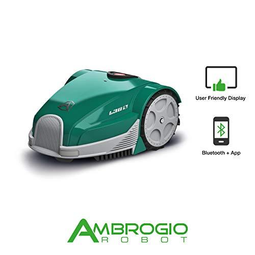 Ambrogio Robot AM030B0F8Z Rasaerba Zucchetti Ambrogio L30 Basic Mähroboter für kleine...