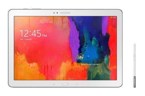 "Samsung SM-P9050ZWADBT Tablette tactile 12,2"" (30,99 cm) Qualcomm Snapdragon 800 (8974) 2,30 GHz 32 Go Android Wi-Fi Blanc - Clavier Qwertz Allemand"