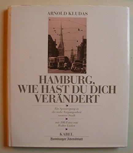 Hamburg, wie hast du dich verändert - Ein Spaziergang in die nahe Vergangenheit unserer Stadt - Mit 100 Fotos von Walter Lüden