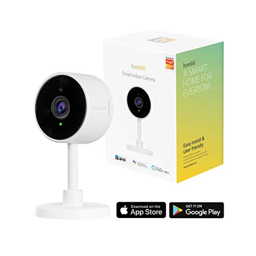 Hombli Smart Indoor Camera IP-beveiligingscamera Binnen Ceiling/Wall/Desk 1920 x 1080 Pixels
