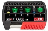 """LTI By Krino 66002445 - Set Inserti """"Mag-Bit"""" Con Portainserto Magnetico, MyBit7 - 7 Pezzi"""