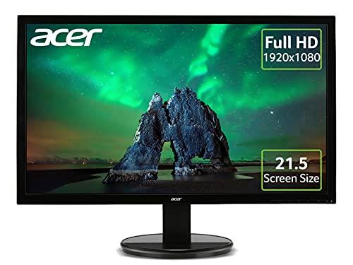 Acer K222HQLbd 22 Inch Full HD Monitor, Black (TN Panel, 5 ms, DVI)