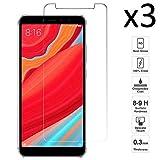 iGlobalmarket [3 Unidades Protector de Pantalla Xiaomi Redmi S2, Cristal Templado Xiaomi Redmi S2, Alta Definicion, 9H Dureza, Resistente a Arañazos