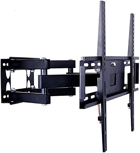 Lzpzz Soporte de Montaje en Pared TV Apto para 32-70 en Capacidad máxima de 50 kg Compatible con 100x100mm a 600x400 mm inclinación de inclinación + 12 / -2 deg
