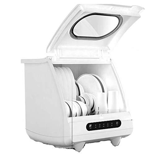 GuoEY Lave-Vaisselle ménager Bureau Séchage et désinfection Automatique Machine à Laver la Vaisselle intégrée, Installation Gratuite, 6 Ensembles de capacité de Vaisselle